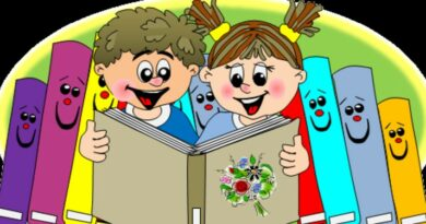 Lekcja biblioteczna dla klas pierwszych
