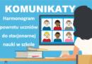 [Aktualizacja 13.05.21] Komunikaty dyrektora szkoły